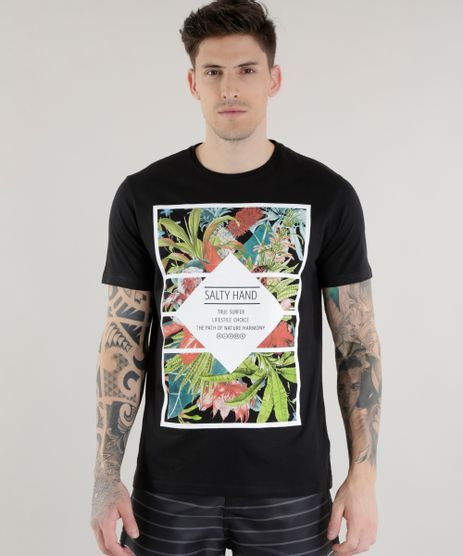 Camiseta--Salty-Hand-True-Surfer--Preta-8562349-Preto_1