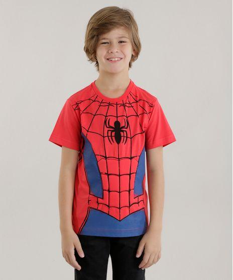Camiseta-Homem-Aranha-Vermelha-8568668-Vermelho_1