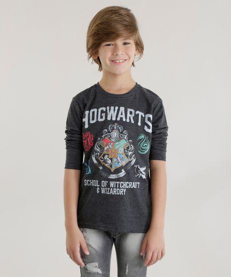 Camiseta--Hogwarts--Cinza-Mescla-Escuro-8578593-Cinza_Mescla_Escuro_1