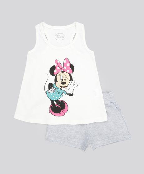 Conjunto-Minnie-de-Blusa-Off-White---Short-em-Moletom-Cinza-Mescla-8567808-Cinza_Mescla_1