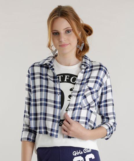 Camisa-Cropped-Xadrez-Azul-8580522-Azul_1