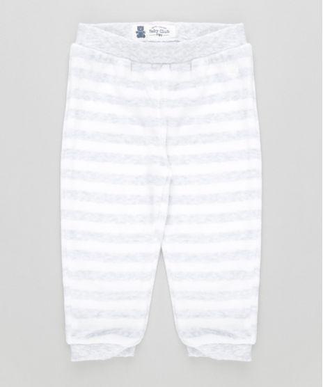 Calca-Listrada-em-Plush-de-Algodao---Sustentavel-Off-white-8479451-Off_White_1