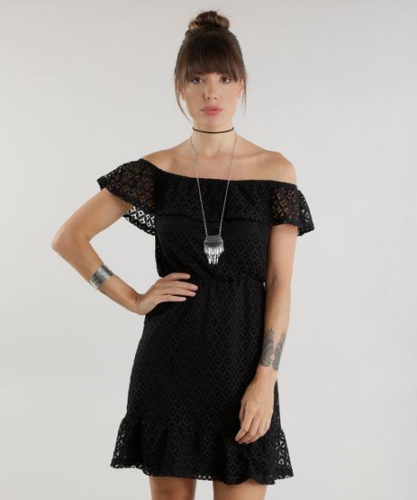 Vestido-Ombro-a-Ombro-em-Renda-Preto-8626812-Preto_1