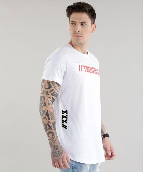 Camiseta-Longa--Trouble--Branca-8606591-Branco_1