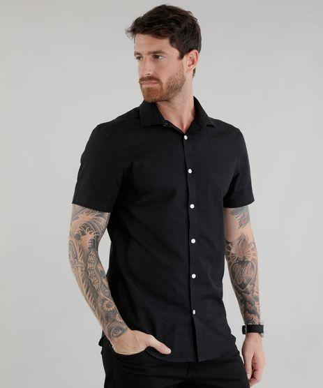 Camisa-Slim-Preta-8456840-Preto_1