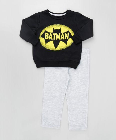 Conjunto-Batman-de-Blusao-Preto---Calca-em-Moletom-Cinza-Mescla-8611740-Cinza_Mescla_1