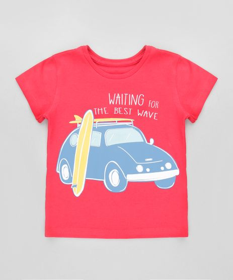 Camiseta--Waiting-for-the-best-wave--Vermelha-8612501-Vermelho_1