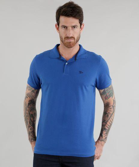 Polo-em-Piquet-Basica-Azul-8534306-Azul_1