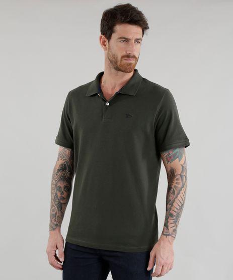 Polo-em-Piquet-Verde-Militar-8528458-Verde_Militar_1