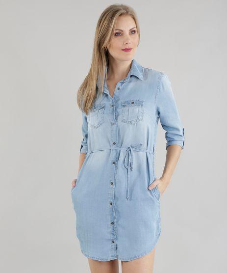 Vestido-Chemise-Jeans-Azul-Claro-8604883-Azul_Claro_1