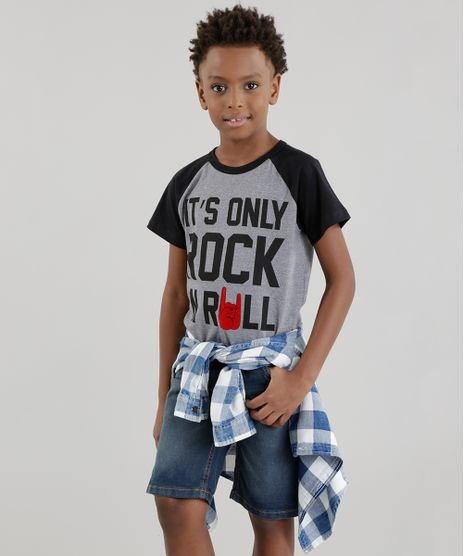 Camiseta--It-s-Only-Rock-n-Roll--Cinza-Mescla-8566996-Cinza_Mescla_1