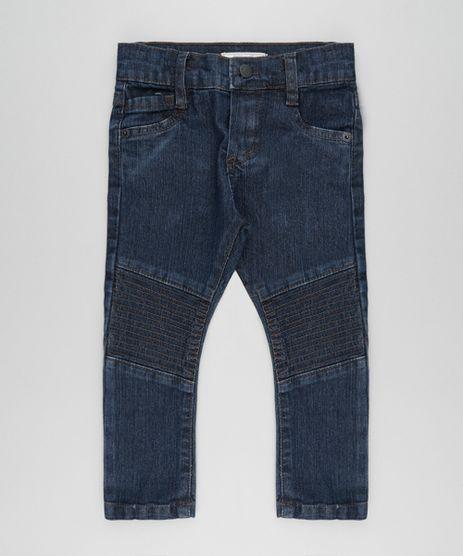 Calca-Jeans-Slim-Biker-em-Algodao---Sustentavel-Azul-Escuro-8570942-Azul_Escuro_1