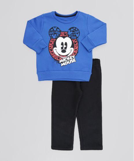 Conjunto-Mickey-de-Blusao-Azul---Calca-em-Moletom-Preta-8611944-Preto_1