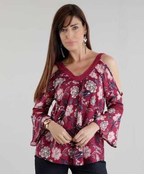 Blusa-Open-Shoulder-Estampada-Floral-Vinho-8614229-Vinho_1