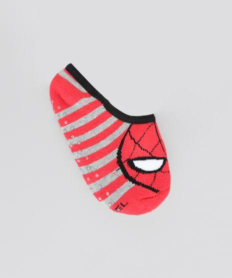 Meia-Sapatilha-Homem-Aranha-Vermelha-8600246-Vermelho_1