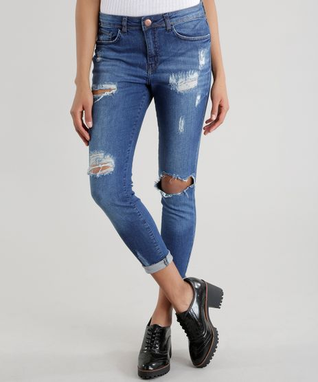 Calca-Jeans-Cigarrete-Azul-Medio-8605527-Azul_Medio_1