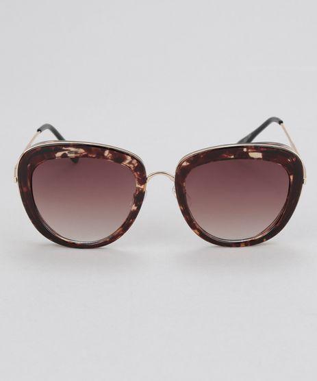 Oculos-Redondo-Feminino-Oneself-Tartaruga-8657360-Tartaruga_1