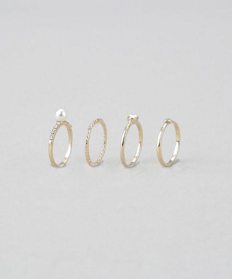 Kit-de-4-Aneis-Dourado-8624469-Dourado_1