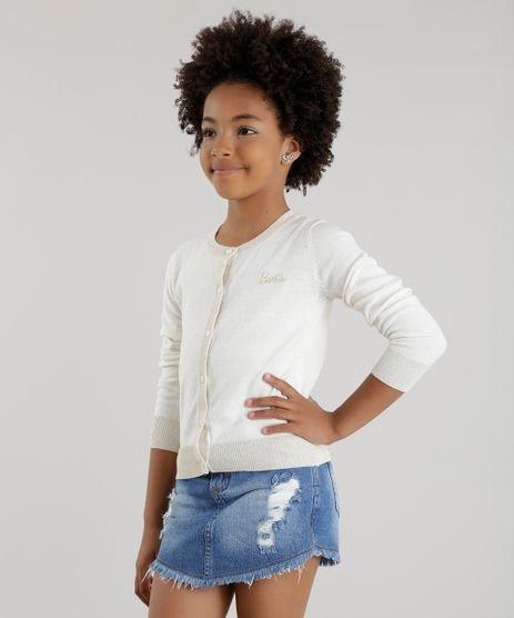 Sueter-em-Trico-de-Algodao---Sustentavel-Barbie-Off-White-8457142-Off_White_1