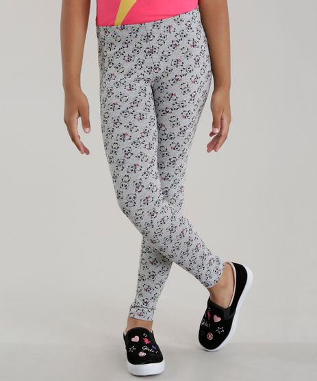 Calca-Legging-Estampada-de-Pandas-Cinza-Mescla-8599038-Cinza_Mescla_1