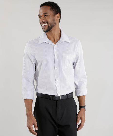 Camisa-Comfort-Listrada-Cinza-Claro-8456516-Cinza_Claro_1