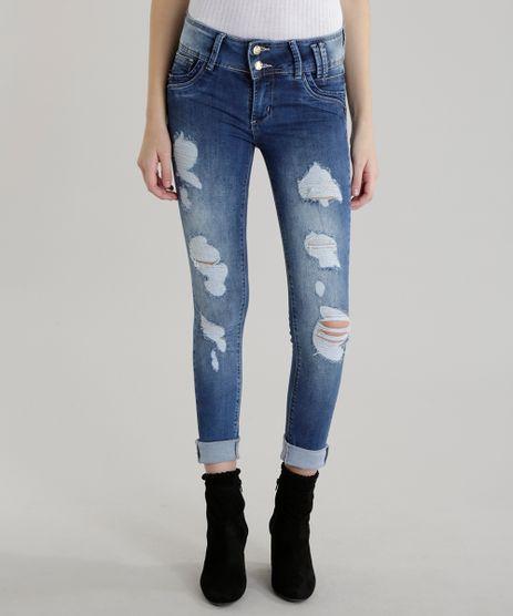 Calca-Jeans-Super-Skinny-Modela-Bumbum-Sawary-Azul-Medio-8479070-Azul_Medio_1