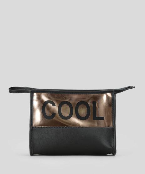 Necessaire--COOL--Metalizada-Preta-8617187-Preto_1