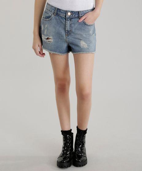 Short-Jeans-Relaxed-Azul-Medio-8605647-Azul_Medio_1
