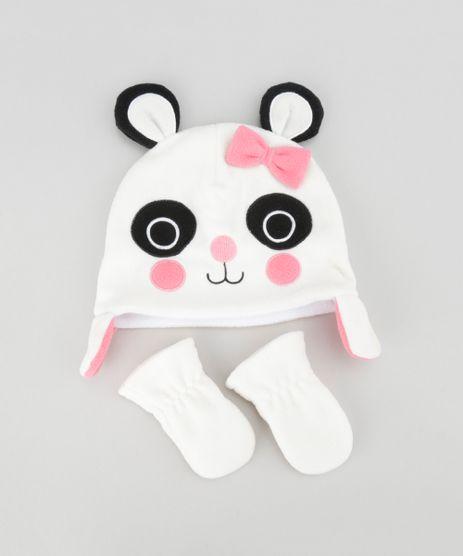 Kit-de-Gorro---Luva-em-Plush--Panda--Off-White-8491197-Off_White_1