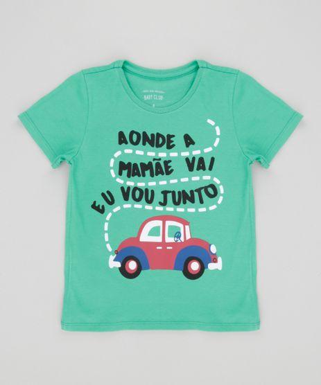 Camiseta--Aonde-a-mamae-vai-eu-vou-junto--Verde-8630863-Verde_1