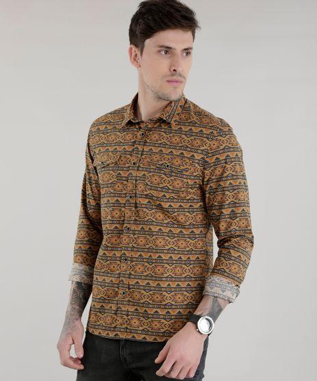 Camisa-Estampada-Etnica-Marrom-8448825-Marrom_1