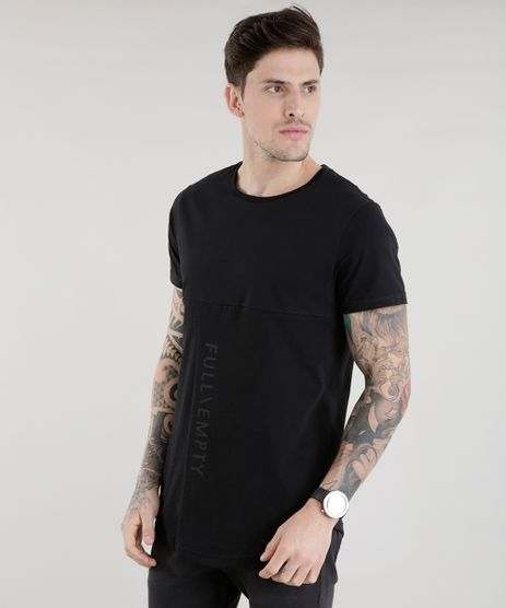 Camiseta-Longa--Full-Empty--Preta-8606574-Preto_1