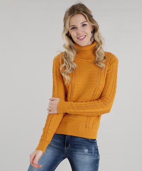 Sueter-em-Trico-Amarelo-Escuro-8489297-Amarelo_Escuro_1