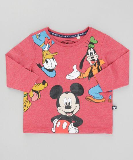 Camiseta-Turma-do-Mickey-Vermelha-8529800-Vermelho_1