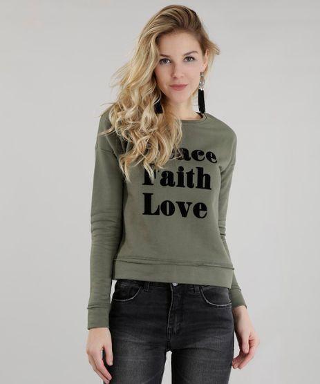 Blusao-em-Moletom--Peace-Faith--Verde-Militar-8638164-Verde_Militar_1