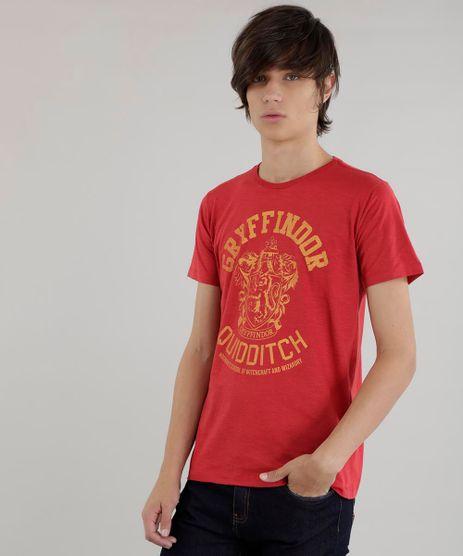 Camiseta-Harry-Potter-Vermelha-8619170-Vermelho_1