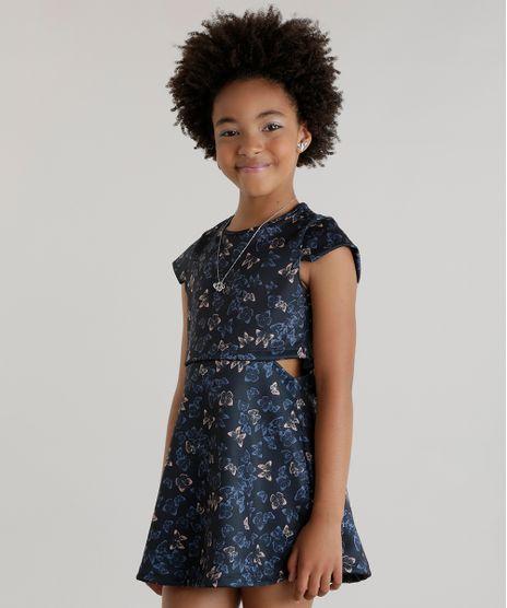 Vestido-Estampado-de-Borboletas-Azul-Marinho-8618542-Azul_Marinho_1