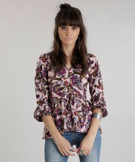 Blusa-Estampada-Floral-com-Babados-Rose-8635243-Rose_1