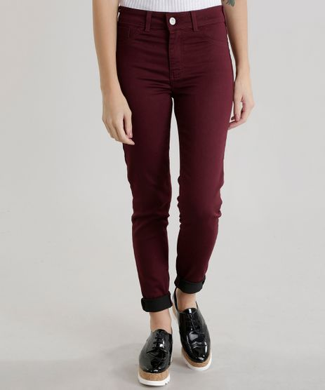 Calca-Super-Skinny-Energy-Jeans-Vinho-8622234-Vinho_1