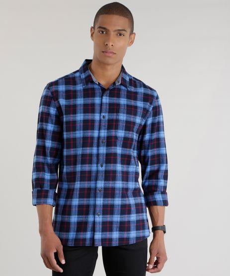 Camisa-Xadrez-Azul-Marinho-8448679-Azul_Marinho_1