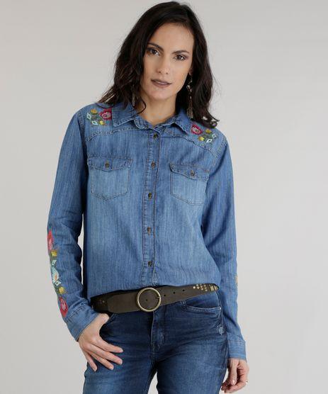 Camisa-Jeans-com-Bordados-Azul-Escuro-8614029-Azul_Escuro_1