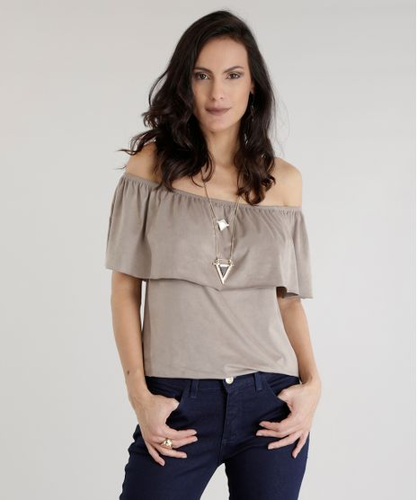 Blusa-Ombro-a-Ombro-em-Suede-Bege-8656874-Bege_1