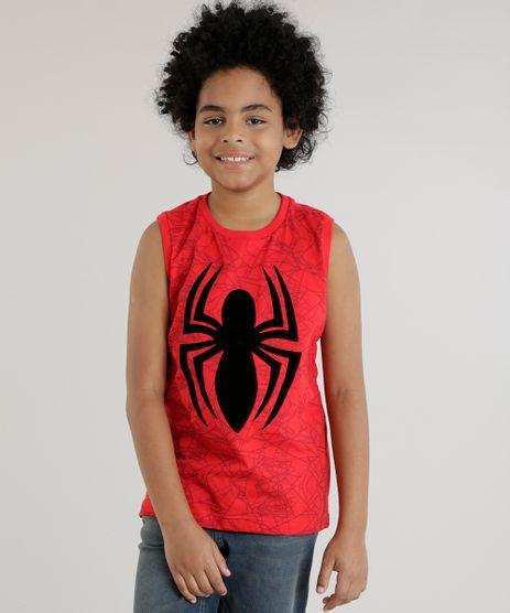 Regata-Homem-Aranha-Vermelha-8618570-Vermelho_1