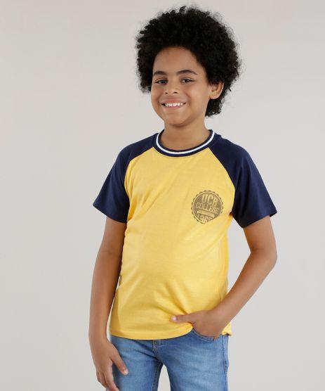 Camiseta--UCB-College-University--Amarela-8559376-Amarelo_1
