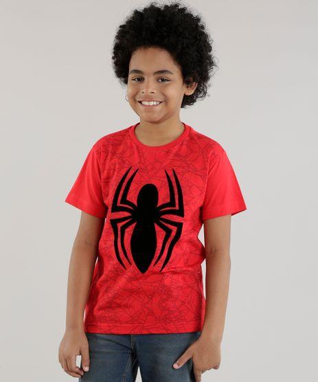 Camiseta-Homem-Aranha-Vermelha-8618563-Vermelho_1