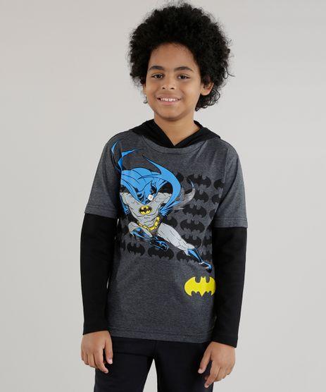 Camiseta-com-Capuz-Batman-Cinza-Mescla-Escuro-8618598-Cinza_Mescla_Escuro_1