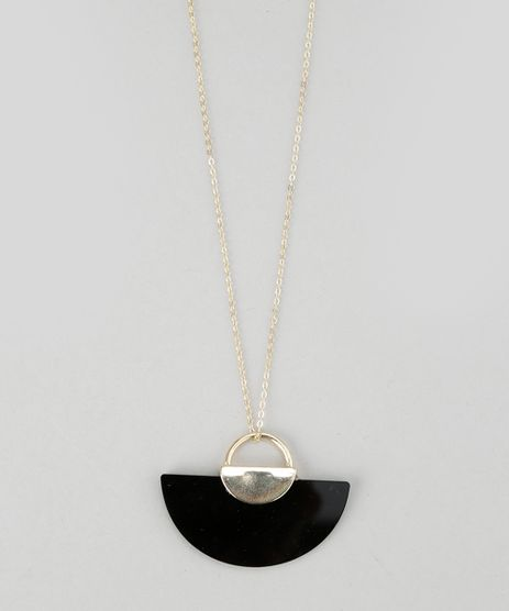 Colar-com-Pingente-Geometrico-Dourado-8624818-Dourado_1