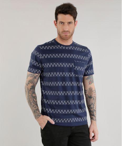 Camiseta-Estampada-de-Flechas-Azul-Marinho-8582301-Azul_Marinho_1
