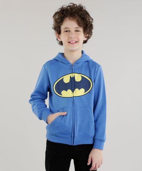 Blusao-Estampado-Batman-em-Moletom-de-Algodao---Sustentavel-Azul-8470160-Azul_1