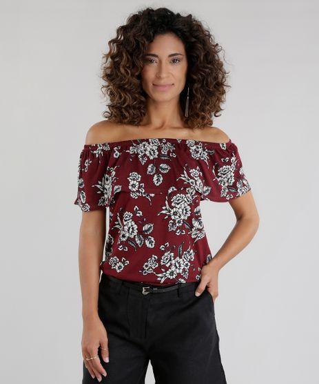 Blusa-Ombro-a-Ombro-Estampada-Floral-Vinho-8657469-Vinho_1